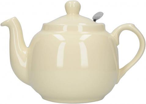 London Pottery Teekanne, creme, 4 Tassen